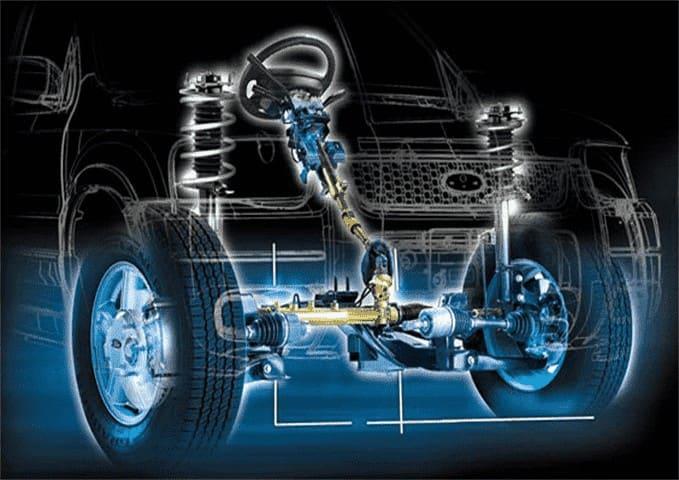Оперативная замена рулевой рейки легкового авто